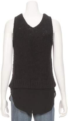 Line Hadlee Sleeveless Silk Bottom Sweater
