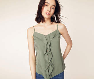 Oasis Button Frill Front Cami