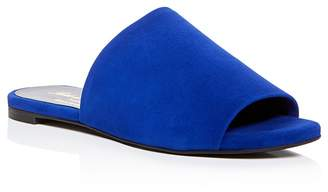 Robert Clergerie Gigy Slide Sandals $395 thestylecure.com