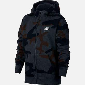Nike Boys' Sportswear Allover Print Hoodie