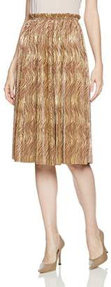 Lily Brown (リリー ブラウン) - (リリーブラウン) Lily Brown 光沢プリーツスカート LWFS174060 58 BRW F