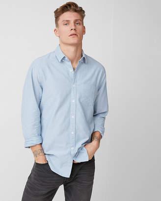 Express Classic Soft Wash Cotton Oxford Shirt