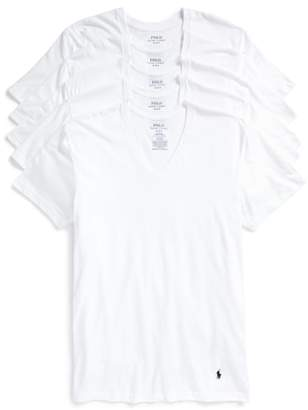 Polo Ralph Lauren 5-Pack V-Neck T-Shirts