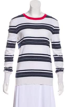 Equipment Striped Knit Sweater