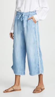 Bella Dahl Side Stripe Wide Leg Pants