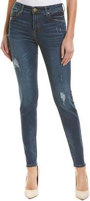 KUT from the Kloth Medium Wash High-Rise Toothpick Skinny Leg