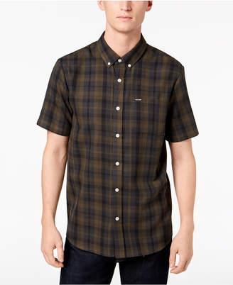 Volcom Men's Keiran Plaid Pocket Shirt
