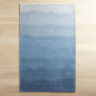 Pier 1 Imports Sabine Ombre Blues Wool Rug