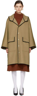 MACKINTOSH Beige Wool Cape Coat