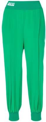 Fendi logo trousers