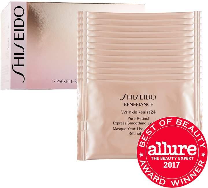 ShiseidoShiseido Benefiance WrinkleResist24 Pure Retinol Express Smoothing Eye Mask