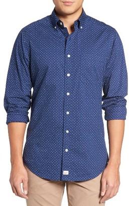 Men's Vineyard Vines Murray Slim Fit Print Sport Shirt $98.50 thestylecure.com