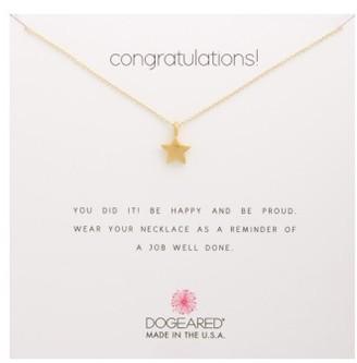 Women's Dogeared Congratulations Pendant Necklace $58 thestylecure.com