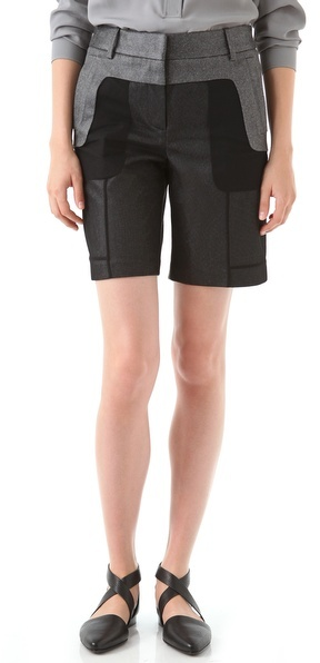Alexander Wang Revealed Tailored Shorts