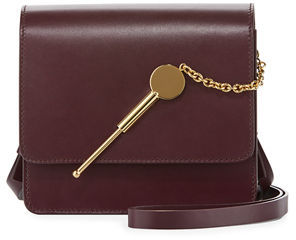 Sophie Hulme Cocktail Stirrer Small Leather Saddle Bag $415 thestylecure.com
