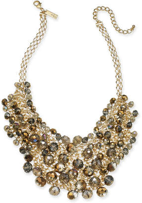 """INC International Concepts I.N.C. Gold-Tone Shaky Bead 16"""" Statement Necklace, Created for Macy's"""