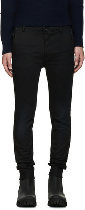 Diesel Black Slim Chino Jeans $250 thestylecure.com