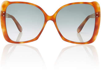 fb4ae280d5 Gucci Butterfly-Frame Tortoiseshell Acetate Sunglasses