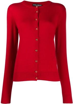 Dolce & Gabbana logo button up cardigan