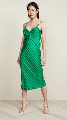 Mason by Michelle Mason Slip Dress with Lapel