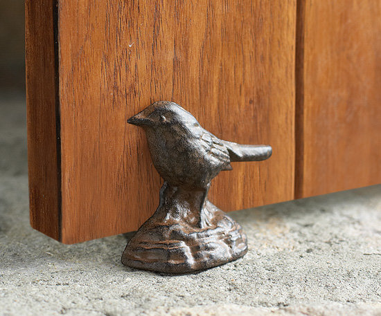 Pulcino (Bird) Iron Doorstop
