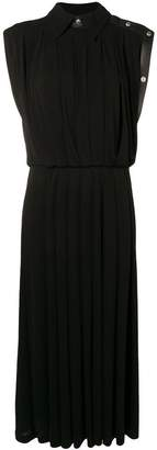 Givenchy stud trim midi dress