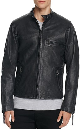 LEVI'S Racer Night Watch Leather Moto Jacket $398 thestylecure.com