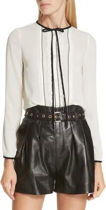 RED Valentino Bow Neck Blouse