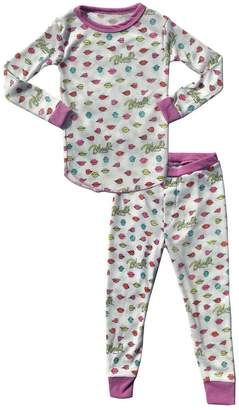 Rowdy Sprout Youth Girl's Blondie Thermal PJ Set