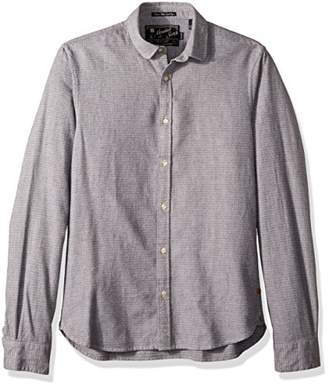 Scotch & Soda Men's Longsleeve Shirt in Dobby Patterns