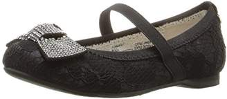 Stuart Weitzman Girls' Fiona Lace-T-K Mary Jane
