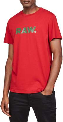 G Star Raw Short Sleeve Graphic Tee