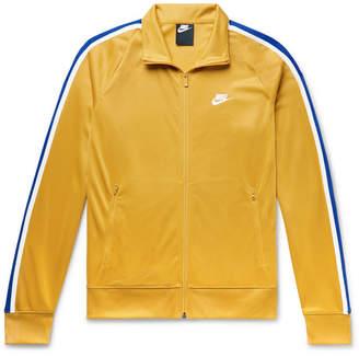 b28ef8ebb04780 Nike Sportswear N98 Webbing-Trimmed Tech-Jersey Track Jacket