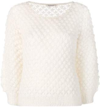 Mes Demoiselles perforated knit jumper