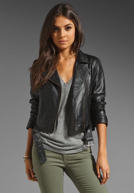 Veda Julian Temptation Leather Jacket