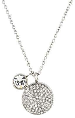 Michael Kors Crystal Pendant Necklace