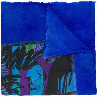 Avant Toi abstract print scarf