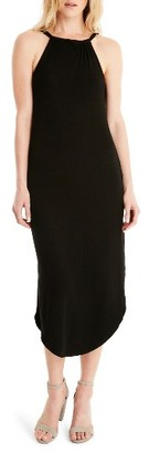 Women's Michael Stars Front To Back Midi Dress $98 thestylecure.com