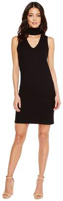 LnA Sleeveless Detached Turtleneck Dress Women's Dress