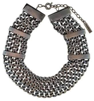 Burberry Multistrand Curb Link Necklace