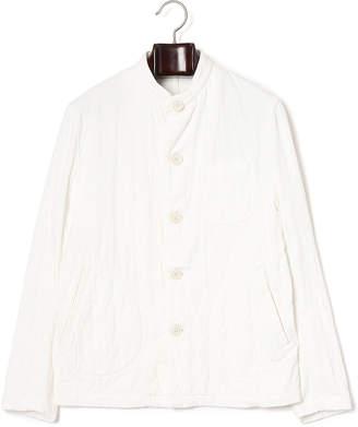 Harriss (ハリス) - Harriss バンドカラー 長袖シャツ ホワイト 38