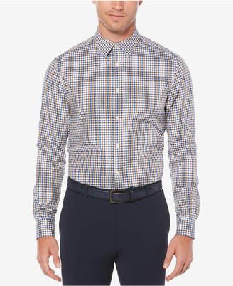 Perry Ellis Men's Checked Dobby Shirt