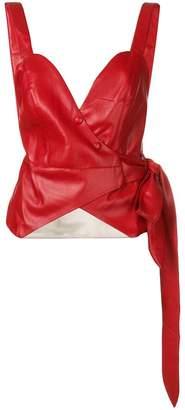 Nanushka fitted waist top