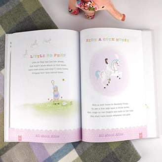 The Letteroom Personalised Gift Boxed Baby Year Book