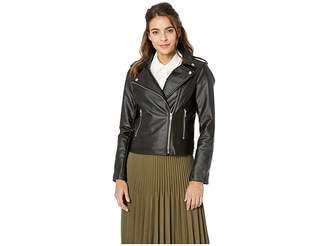BB Dakota Just Ride Vegan Leather Moto Jacket