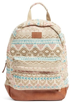 Rip Curl Constellation Jacquard Backpack - White $49.50 thestylecure.com