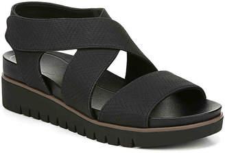 57419cde87e6 Dr. Scholl s Black Leather Women s Sandals - ShopStyle