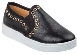 KensieGirl Grommeted Slip-On Sneaker