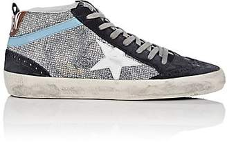1a54c21b28f5 Golden Goose Women s Mid Star Suede Sneakers - Silver