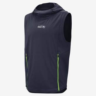 Nike Shield Fly Rush (NFL Seahawks) Men's Hooded Pullover Vest